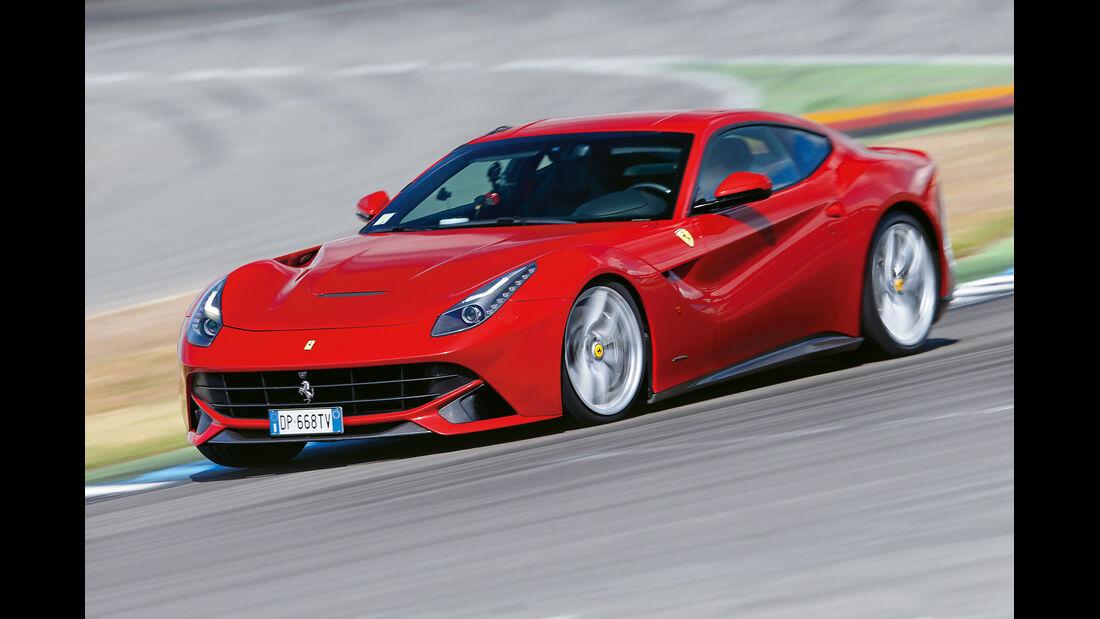 Ferrari F12 Berlinetta, Seitenansicht