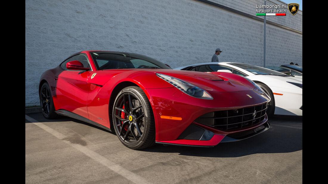 Ferrari F12 Berlinetta - Supercar-Show - Newport Beach - Oktober 2016