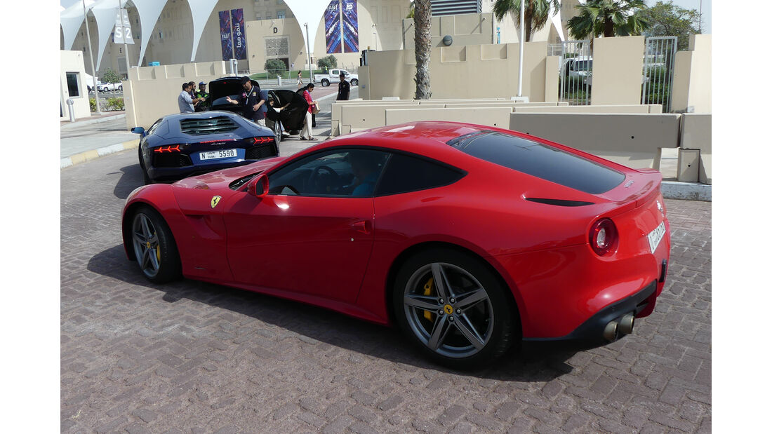 Ferrari F12 - Carspotting - GP Abu Dhabi 2018