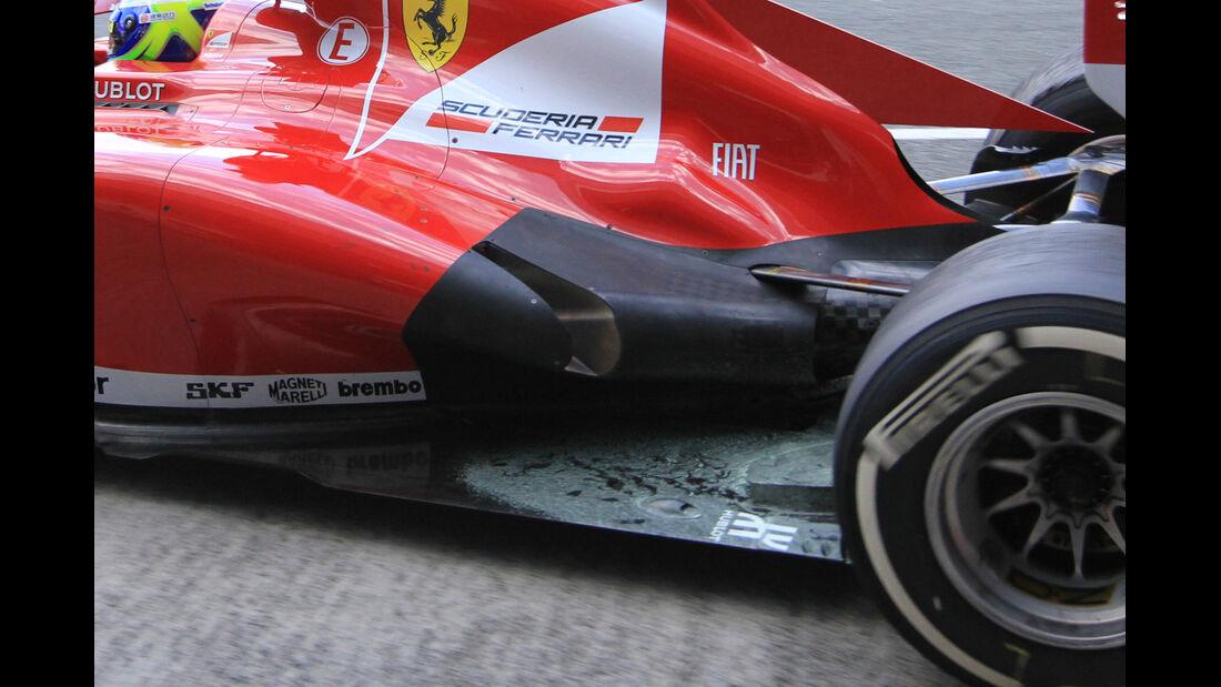 Ferrari F138 Auspuff F1 2013