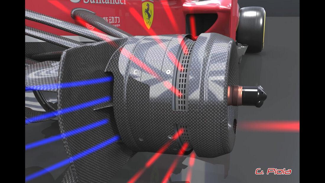 Ferrari F138 Bremsen Piola 2013
