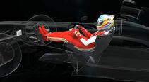 Ferrari F138 DRS 2013 - F1 Technik Piola