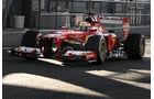 Ferrari F138 Jerez Test 2013