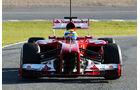 Ferrari F138 Nase F1 Jerez 2013