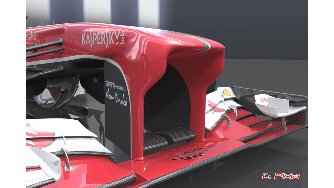 Ferrari F138 Nase Piola 06/2013