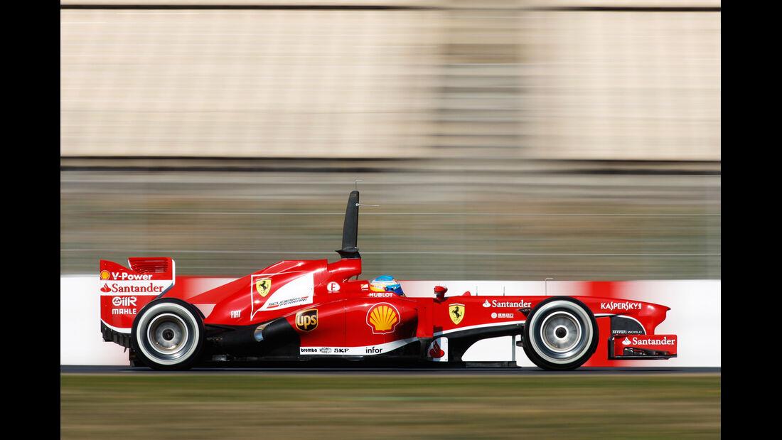 Ferrari F138 Test 2013