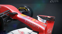 Ferrari F14T vs. Ferrari F138 - Piola-Animation 2014