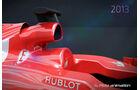 Ferrari F14T vs. Ferrari F138 - Piola-Animation 2014