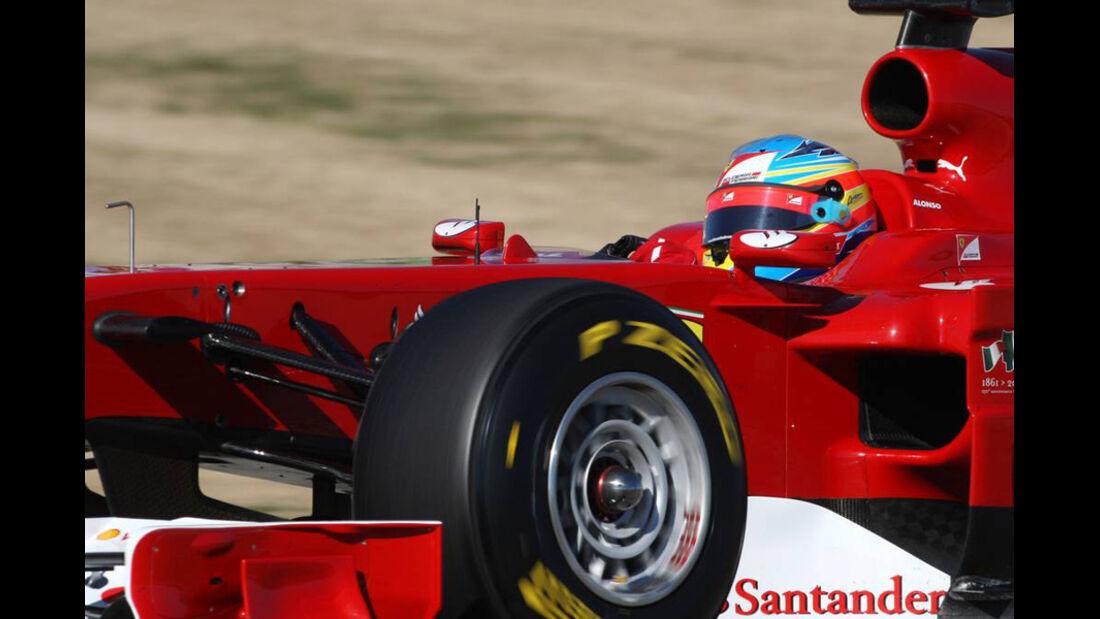 Ferrari F150 Alonso Test 2011