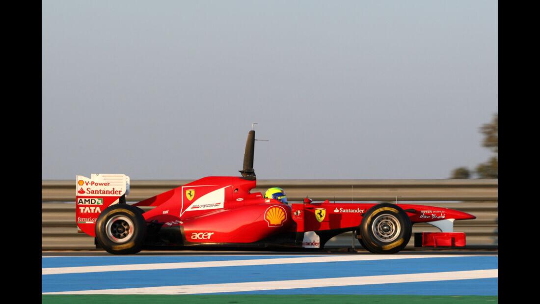 Ferrari F150 Massa Test 2011