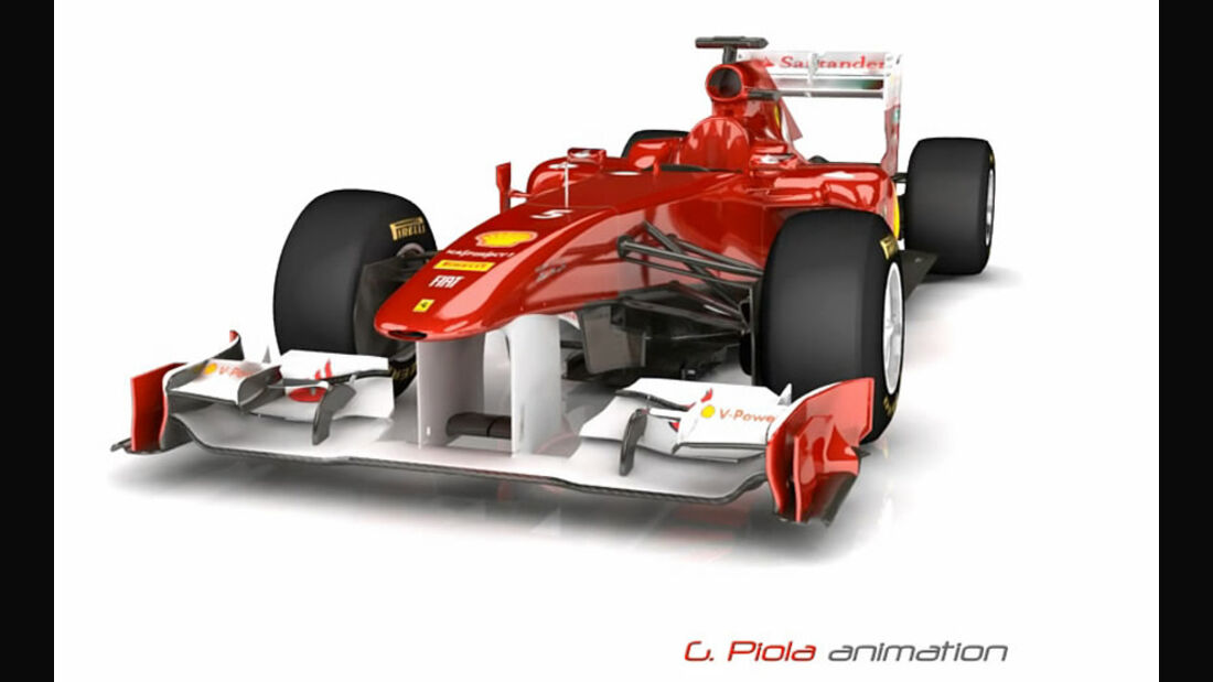 Ferrari F150 Piola Animation 2011