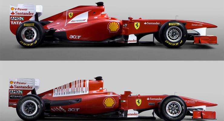 Ferrari F150 vs. F60