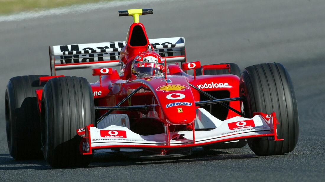 Ferrari F2002 - Barcelona - 2003