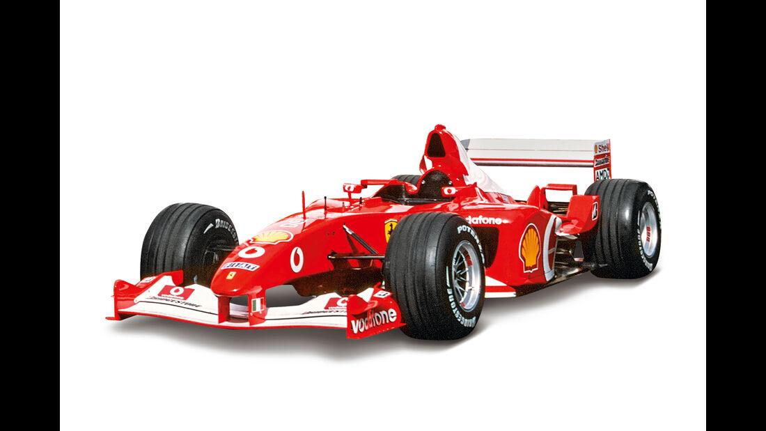 Ferrari F2002 - Beste F1-Autos