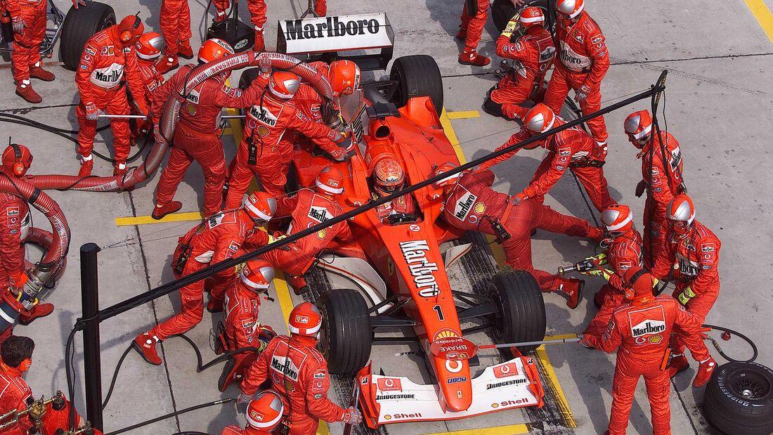 Ferrari F2002 Chassis 219