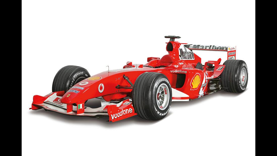 Ferrari F2004 - Beste F1-Autos