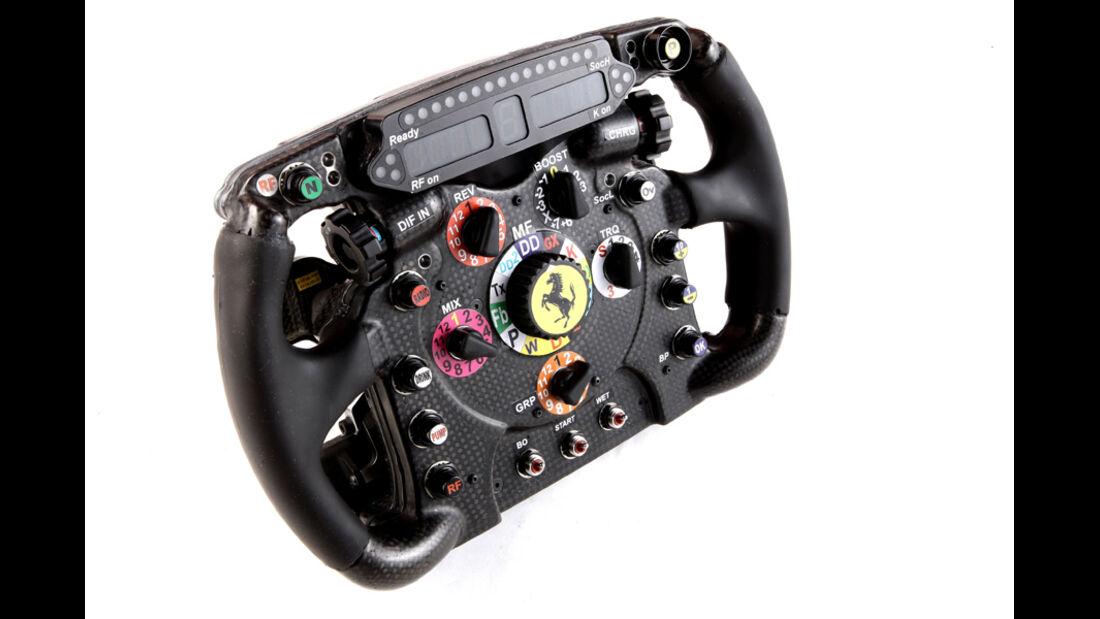 Ferrari F2012 Lenkrad