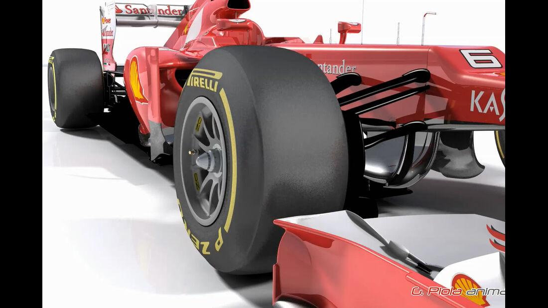 Ferrari F2012 Piola Update GP Kanada 2012