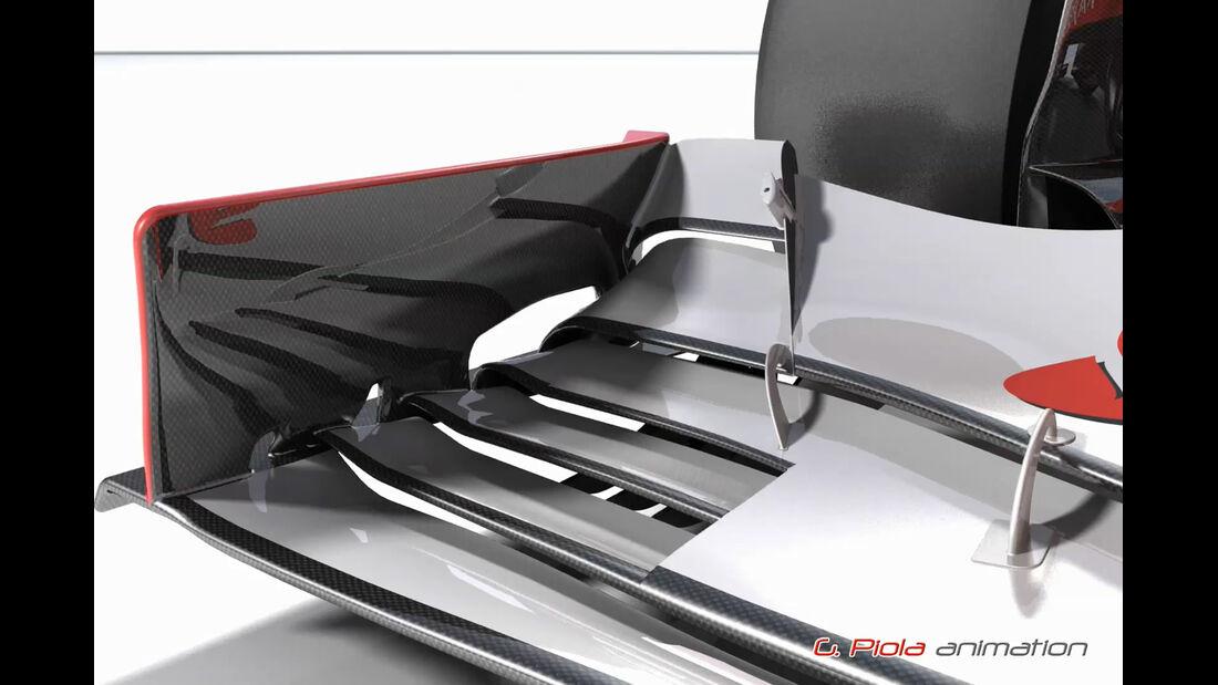 Ferrari F2012 Updates GP USA Brasililen
