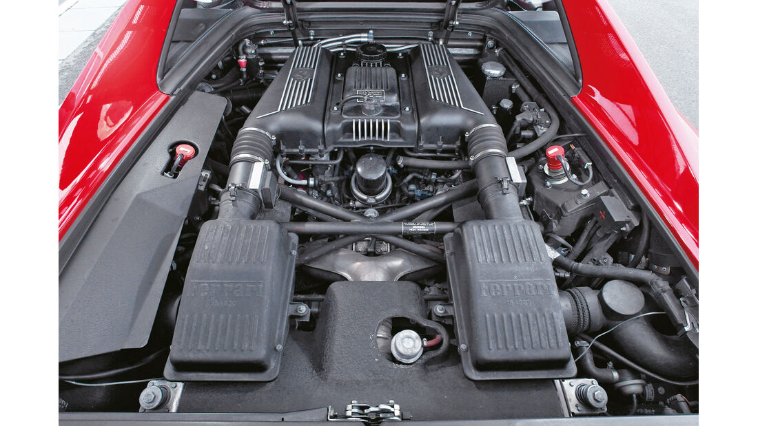 Ferrari F355 GTS, Motor