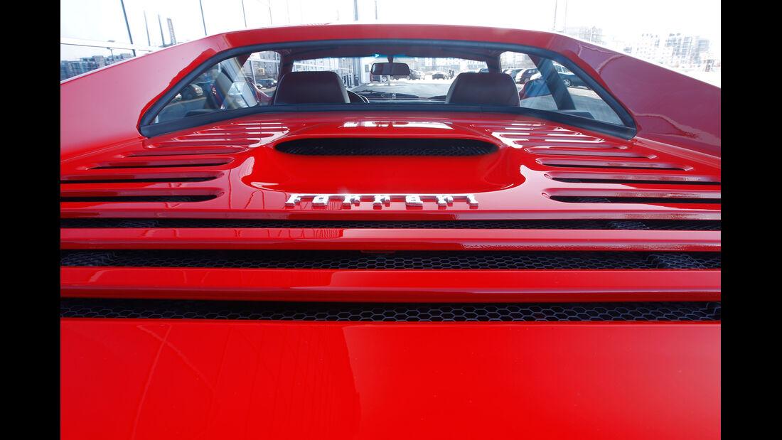 Ferrari F355 GTS, Motorhaube