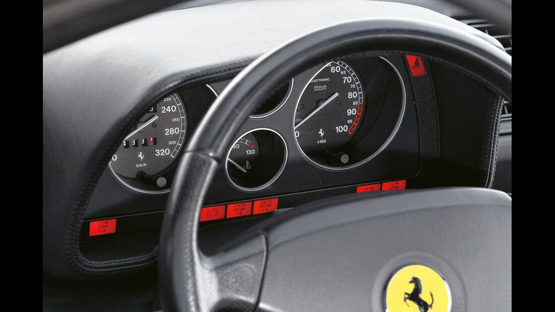 Ferrari F355 GTS, Rundinstrumente