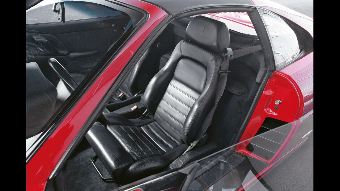 Ferrari F355 GTS, Sitze