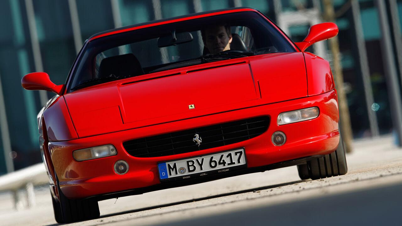 Gebrauchtwagen Ferrari F355 Gts Feurig Scharfer Italo Macho Auto Motor Und Sport
