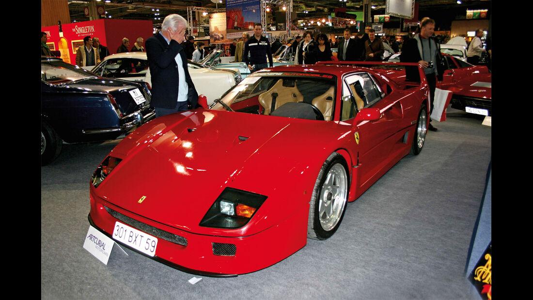 Ferrari F40, Auktion