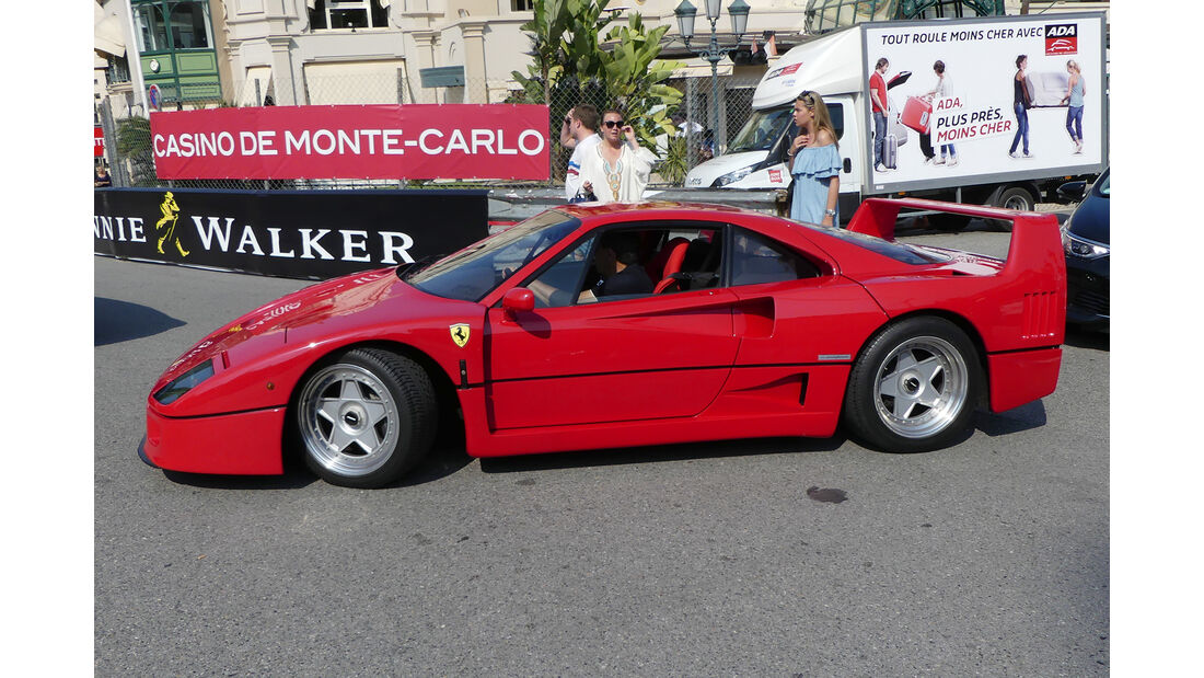 Ferrari F40 - Carspotting - GP Monaco 2017