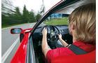 Ferrari F40, Fahrersicht