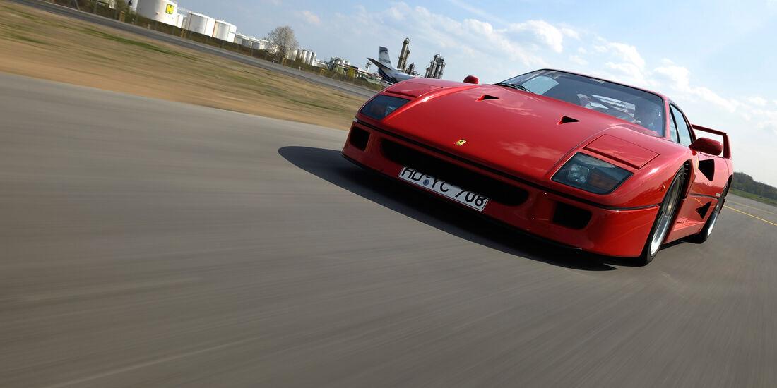 Ferrari F40, Front, Motorhaube