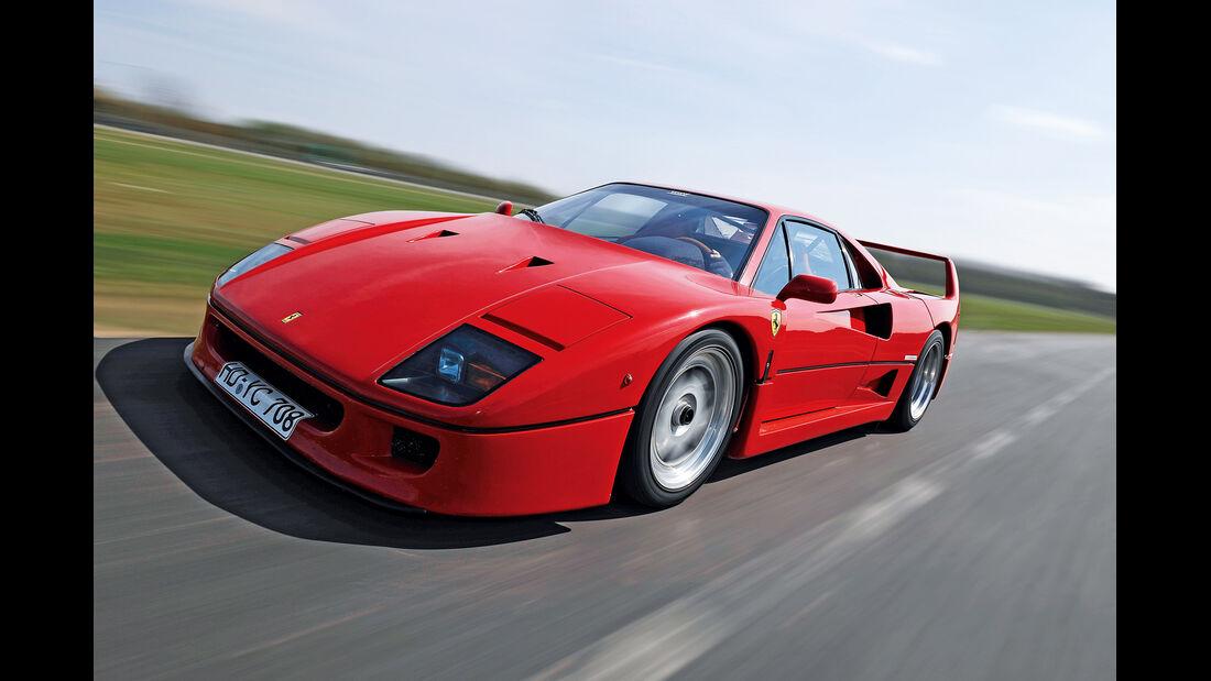 Ferrari F40, Frontansicht