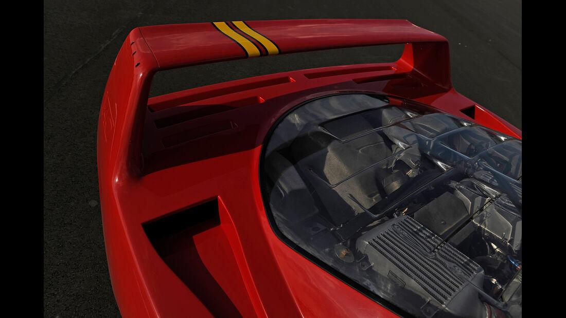 Ferrari F40, Heckspoiler