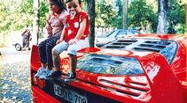 Ferrari F40, Heckspoiler, Kinder