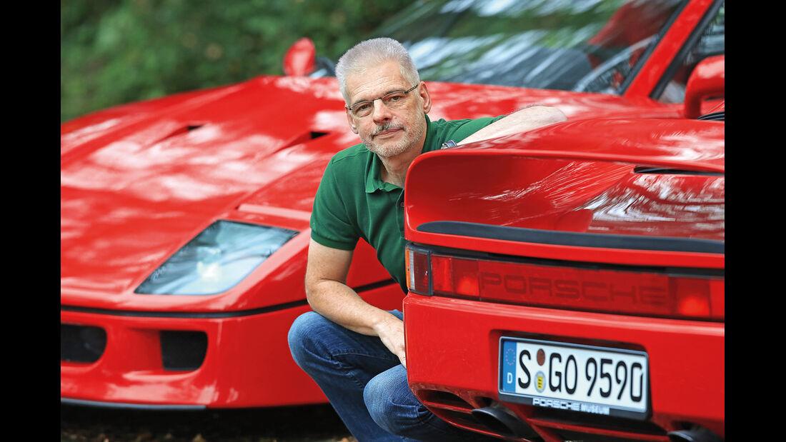 Ferrari F40, Porsche 959, Bernd Woytal