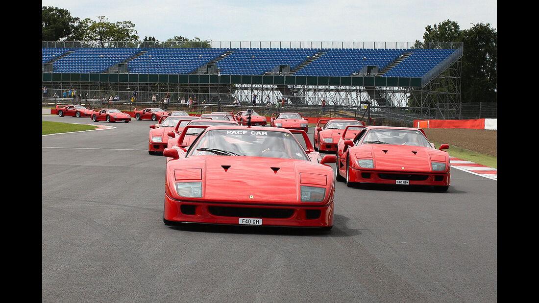 Ferrari F40 - Silverstone