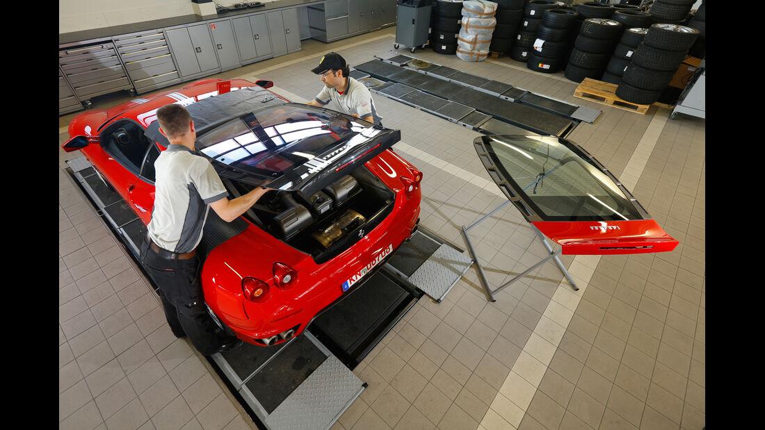 Ferrari F430, Carbon-Haube