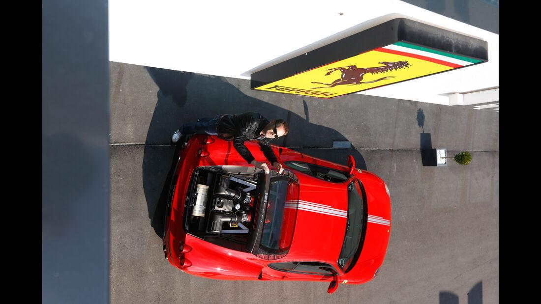 Ferrari F430, Draufsicht