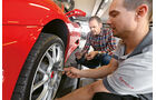 Ferrari F430, Reifenwechsel