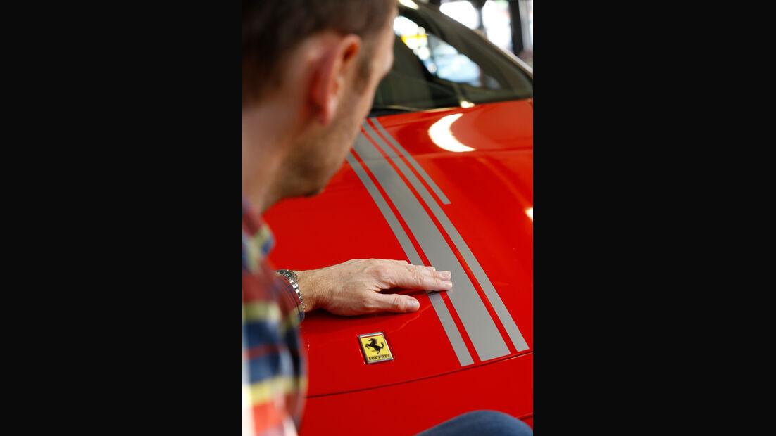 Ferrari F430, Rennstreifen