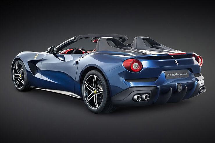 Ferrari F60 America Limitiertes Offenes F12 Jubi Modell Auto Motor Und Sport