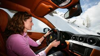 Ferrari FF, Anja Wassertheurer, Fahrt