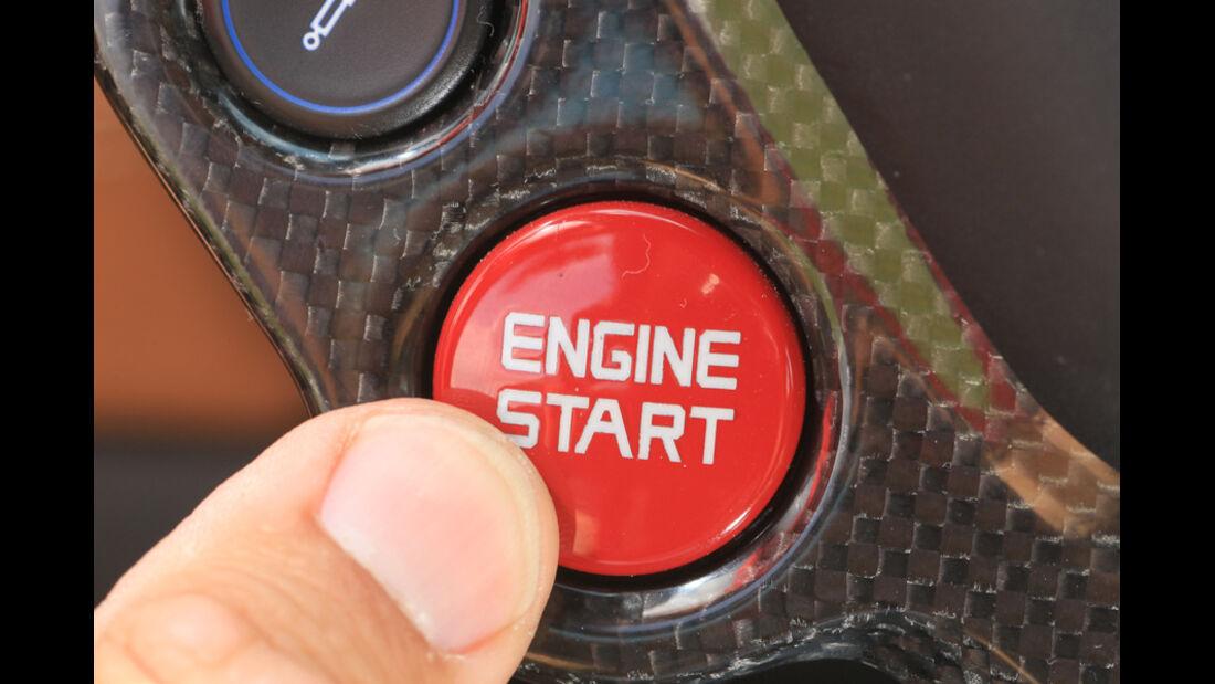 Ferrari FF, Bedienknopf, Start