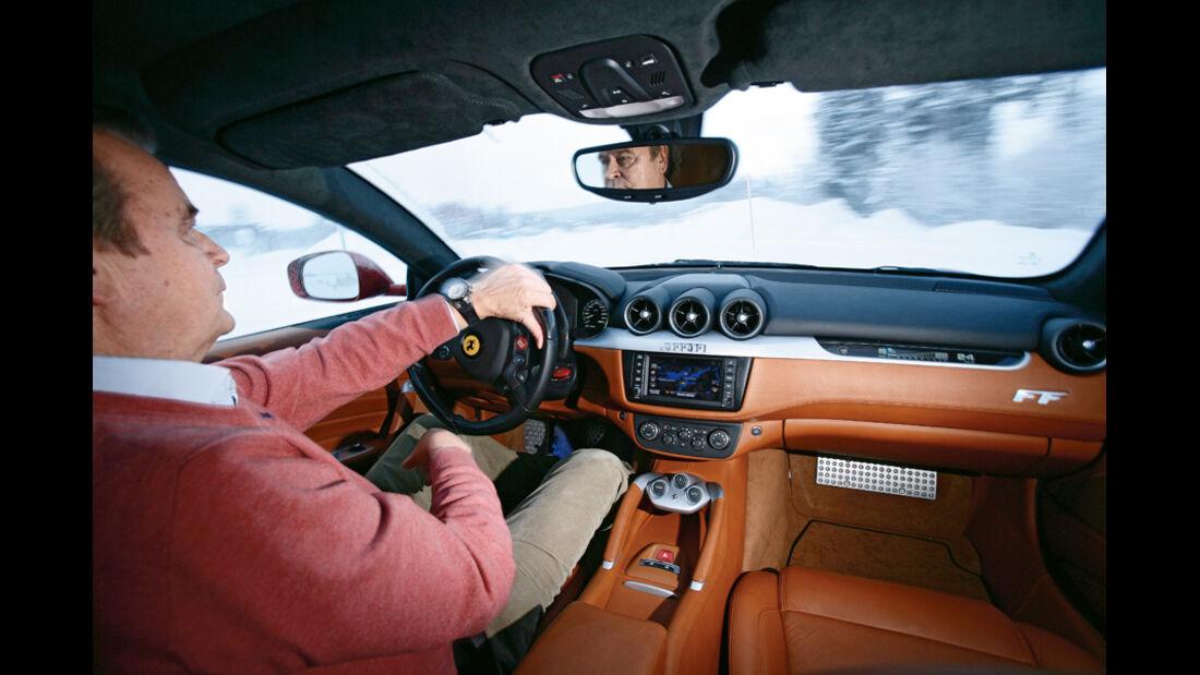 Ferrari FF, Cockpit, Markku Alen