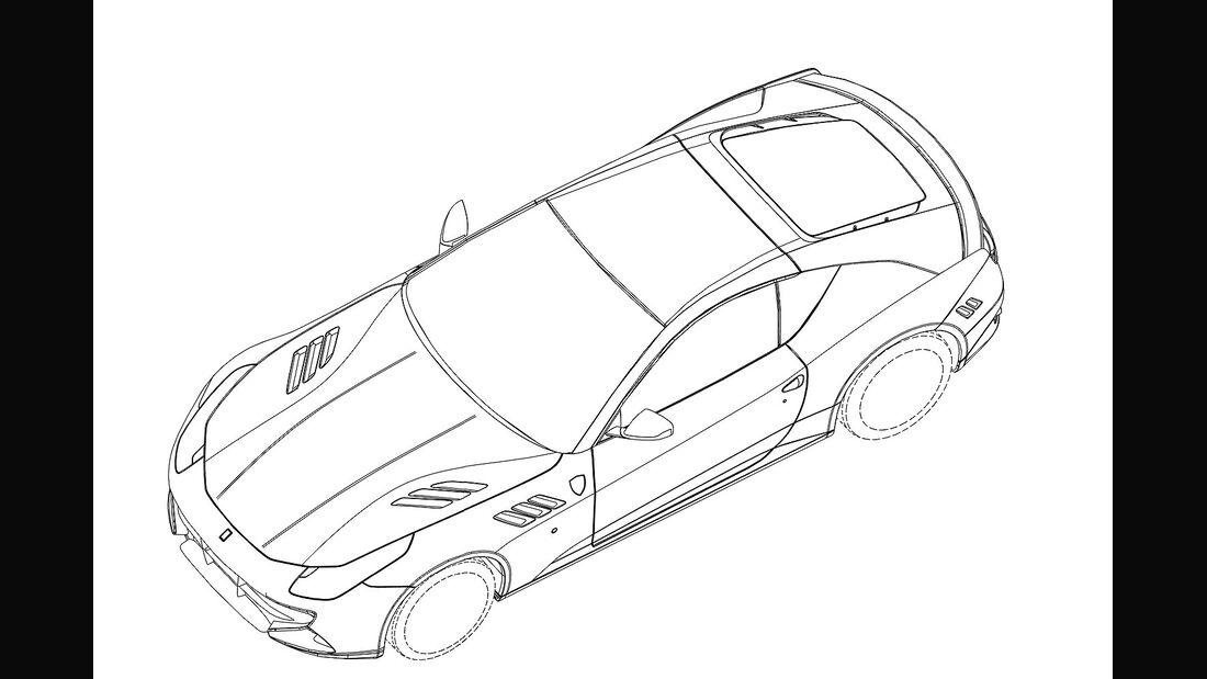 Ferrari FF Coupé Unikat Patentamtbilder