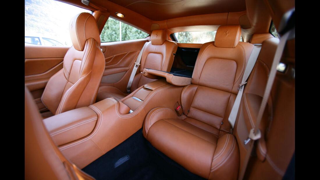 Ferrari FF, Detail, Innenausstattung, Innenraum