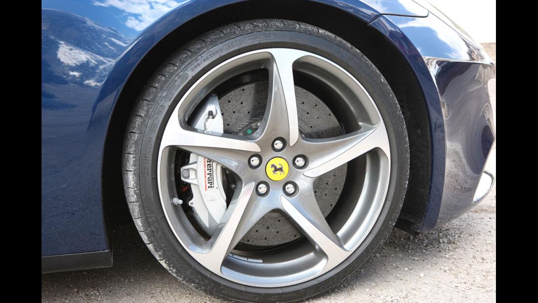 Ferrari FF, Detail, Vorderrad, Felge