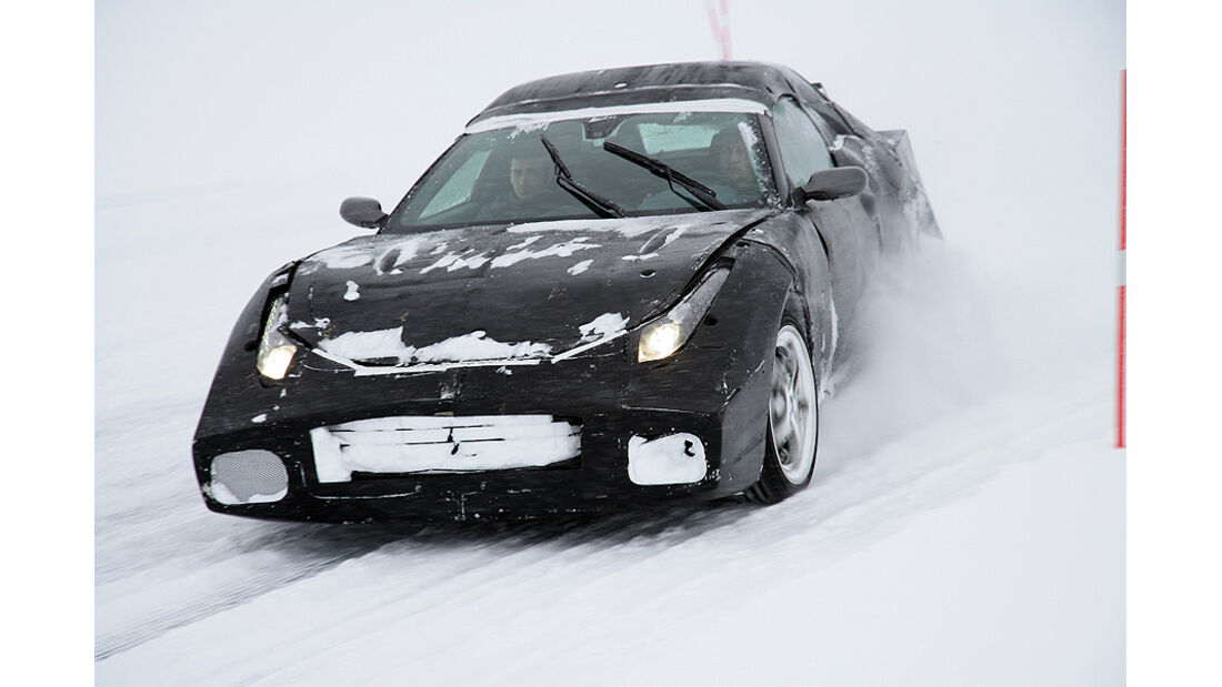 Ferrari FF, Drift