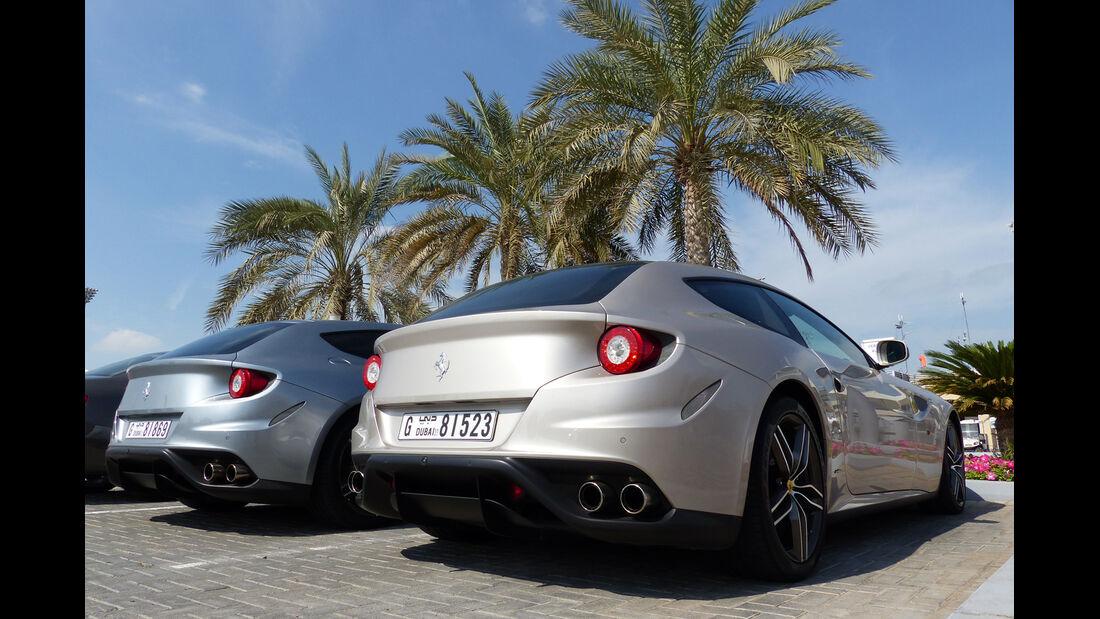 Ferrari FF - F1 Abu Dhabi 2014 - Carspotting